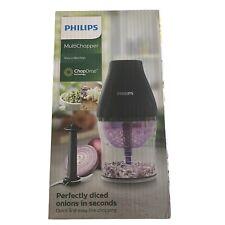 Philips Multichopper~New in Box Viva Collection Black