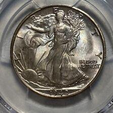 1942-S Walking Liberty 50C Half Dollar PCGS MS 65