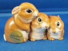 John Beswick Ceramic Wildlife Miniatures Animals 2013 - Bunnies