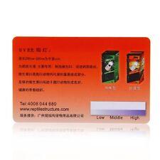 Professional Safe Pro Pvc Reptile Terrarium Uvb Light Lamp Test Card Orange