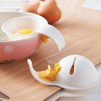 1PC Useful Mini Egg Yolk White Separator Egg Divider With Holder Hot Sale New FS