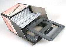 2-3/4in x 2-3/4in MEDIUM FORMAT GLASSLESS SLIDE MOUNTS, 25 IN BOX