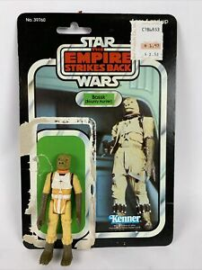 Star Wars The Empire Strikes Back Bossk Figure With Card