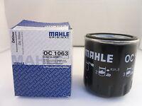 Ford Oil Filter 1.0 1.8 2.0 Petrol MAHLE OC1063