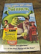 SHREK ~ SPECIAL EDITION VIDEOCASSETTE, (VHS, 2001), NEW, SEALED