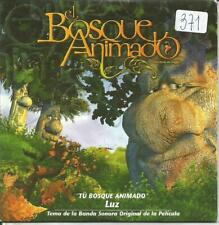 OST EL BOSQUE ANIMADO  - LUZ CASAL  - TU BOSQUE ANIMADO CD SINGLE 1 TRACK PROMO