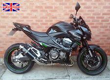 Kawasaki Z800 13-16 SP Engineering Satin Black Round Moto GP XLS Exhaust