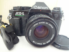 Canon AE-1 Program with FD50/1.8,strap light seal renewed from Japan Exc++++2633