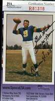 Bill Wade Jsa Coa Autographed 1981 Tcma Authenticated Hand Signed