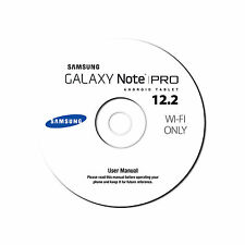 User Manual for Samsung Note PRO 12.2 Phone-Android KitKat-WiFi Only-SM-P900-CD