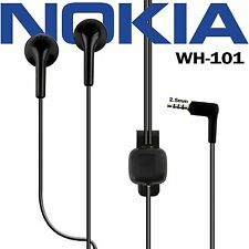 Genuine Nokia WH-101 2.5 mm Jack In Ear Hands-free with Mic Headset Earphone