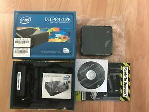 intel nuc mini pc, 2 HDMI, 4GB, Win10 Pro, 111GB SSD, 3USB, Celeron 847 1.1GHz