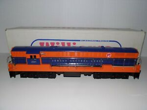 Williams Trains FM-102 Jersey Central FM Trainmaster Diesel Locomotive #2341
