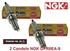 4929 - 2 CANDELE NGK DPR8EA-9 per YAMAHA TDM 850 dal 1991 >2001