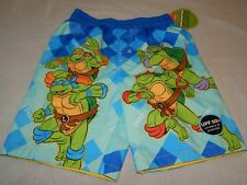Neu Teenage Mutant Ninja Turtles Nickelodeon Badehose Shorts Tmnt Jungen 5T