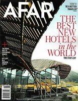 AFAR MAGAZINE MAY/JUNE 2019- THE BEST NEW HOTELS IN THE WORLD--THE STAY LIST