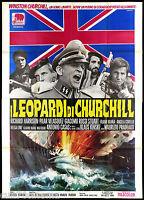 The Leopards by Churchill Manifesto Cinema Second War Wehrmacht Ss Movie Poster