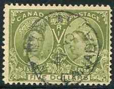 Canada Scott 65 - $5 Jubilee Used CV $1100 CDS