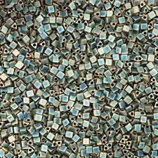 Triangle Taille 10 MIYUKI GRAINE PERLES 2.5 mm Matt Metallic PATINE IRIS 7.5 g (D31/4)