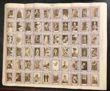 GB 1937 CINDERELLA CORONATION FULL SHEET OF 50 STAMPS DIFFERENT DESIGNS MNH