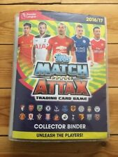 Topps Match Attax Trading Card Game Collector Binder 2016/17 almost complete 90%