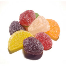 FRUIT JELLIES 250G RETAIL SEALED SWEETS SUITABLE FOR VEGETARIANS GLUTEN FREE