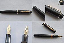 Vintage 1940s Montblanc 234 1/2 G Fountain Pen 14C OB/EF Full Flex Nib B/EF-BBBB