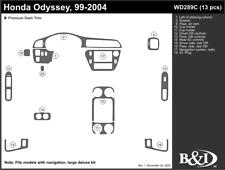 HONDA ODYSSEY 99 2000 2001 2002 2003 2004 DASH TRIM c
