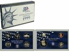 1999 Proof Set ORIGINAL Includes Box and COA  FREE SHIPPING