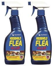 2 x Flea Killing Spray For Cat Dog Bed Carpet Soft Furniture By PetsShield 500ml