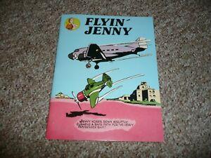 Arcadia Publications FLYIN' JENNY (1987) B&W, Comic Strip Reprints