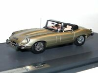 MATRIX Scale Models 1970 Jaguar E-Type Series II Roadster metallic gold 1/43