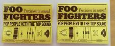 2x foo fighters precision in sound official stickers