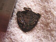 Antique Watch FOB 1914-1915 Honneur Aux Poilus Campagne FOB Pendant