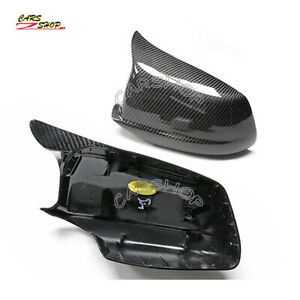 For BMW F10 F11 Pre LCI 535i M5 11-13 OX Carbon Fiber Side Mirror Cover Replace