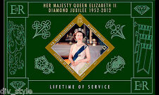 Diamond Jubilee Her Majesty Queen Elizabeth II miniature sheet Gibraltar 2012