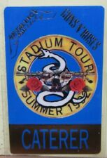 "Metallica - Guns N Roses Laminated Otto Backstage Pass ""Stadium Tour 1992"""