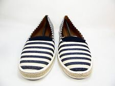 A2 by Aerosoles Funny Bone Womens Slip-On Shoes Navy Stripe Size 7.5M
