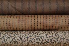 Lot de 3 coupons de tissus patchwork Moda Primitive Gatherings 24x55cm