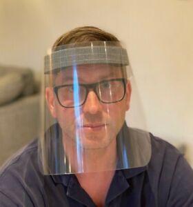 24pk Full Face Visor Mask PPE UK Made Shield Protection