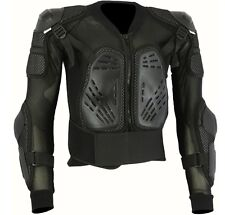 BLACK SCORPION SPINE GUARD BODY ARMOUR MENS MOTORBIKE PROTECTION JACKET