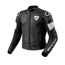 Giacche neri pelle bovini per motociclista Taglia 50