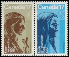 "CANADA 866a - Religious Personalities ""Se-tenant Pair"" (pa59678)"
