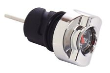 Chrome Black Temperature Thermometer Oil Dipstick for Harley Sportster 04-19
