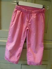 Gap age 5 girls candy pink cotton trousers excellent cond