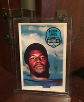 1970 BUBBA SMITH ROOKIE KELLOGGS 3D SUPER STARS BALTIMORE COLTS RC FOOTBALL CARD