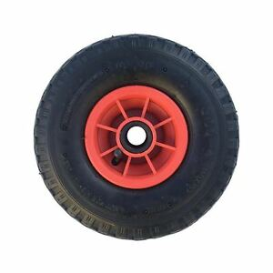 """10"""" 3.00-4 PNEUMATIC WHEEL (260X85) SACK TRUCK TROLLEY WITH 20MM BORE"""