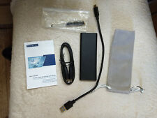 Used M.2 USB 3.1 external enclosure with installed 500 GB drive