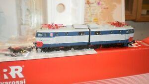 loco électrique service mixte E 655 217 Italtrafo FS Rivarossi 2033 HO 2 rails