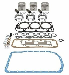 Made to Fit FORD 3000 TRACTOR 175 CID DIESEL ENGINE 4.2 OVERHAUL KIT